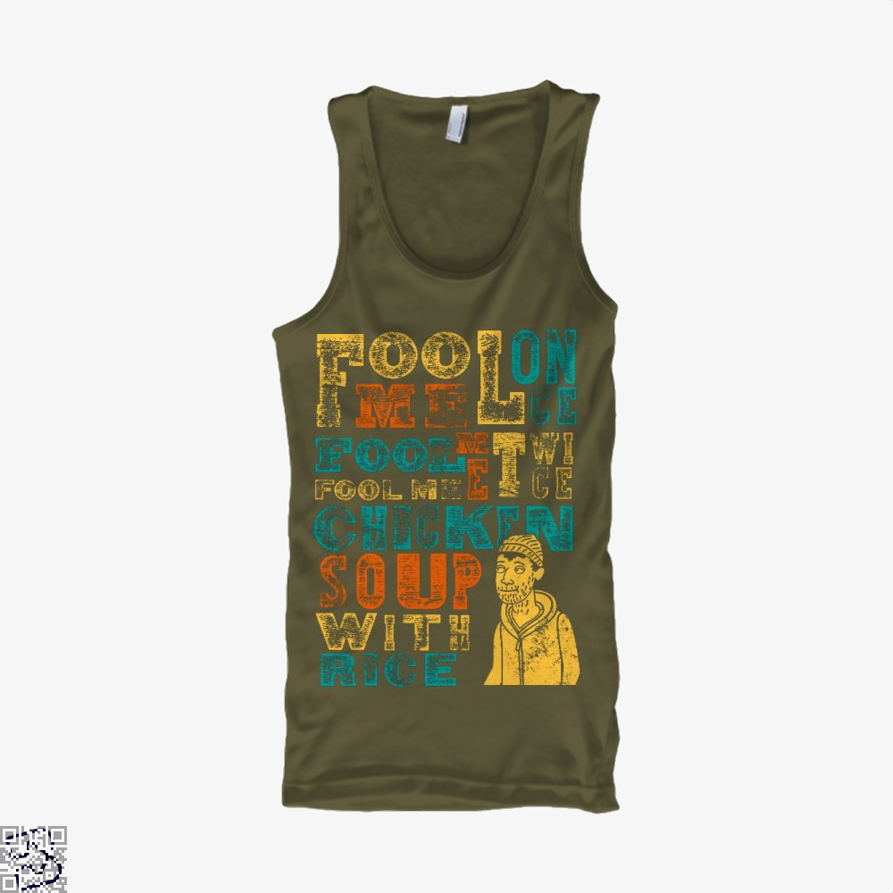 Fool Me Chicken Rice, Bojack Horseman Tank Top