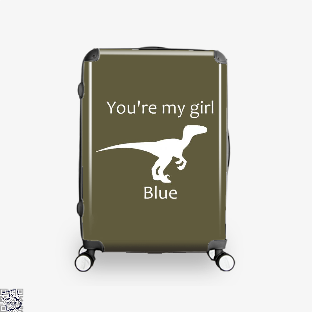 You're My Girl Blue, Jurassic World Suitcase