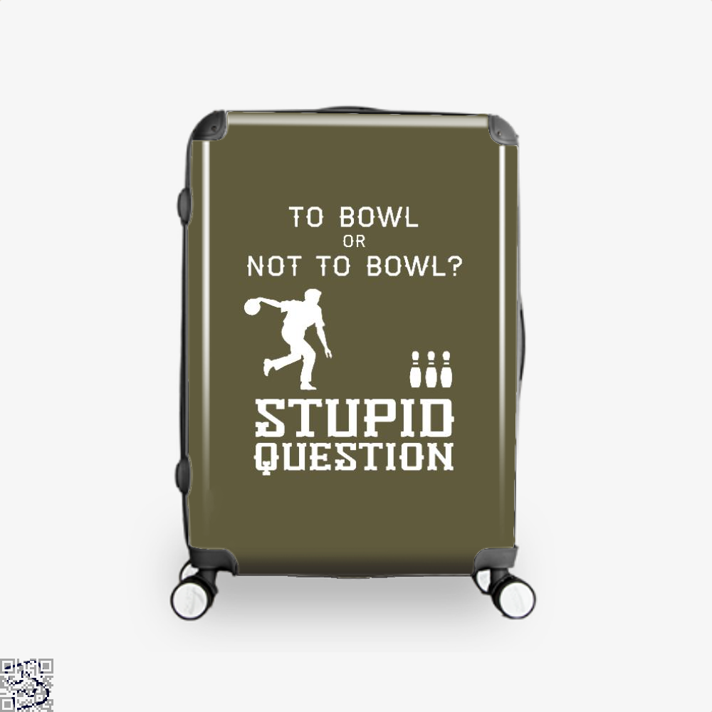 To Bowl Or Not To Bowl, Bowling Suitcase