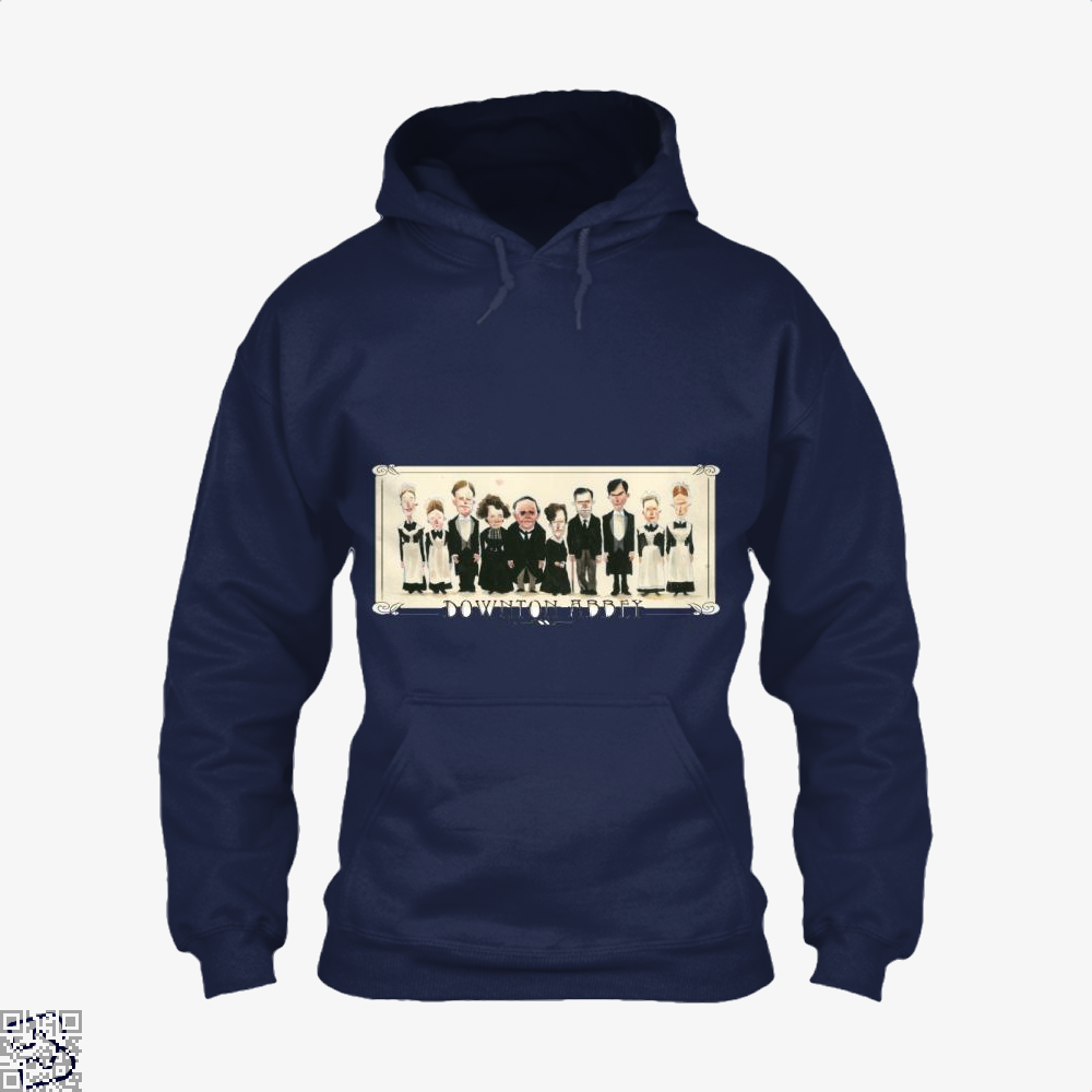 Downton Abbey Cartoon, Downton Abbey Hoodie