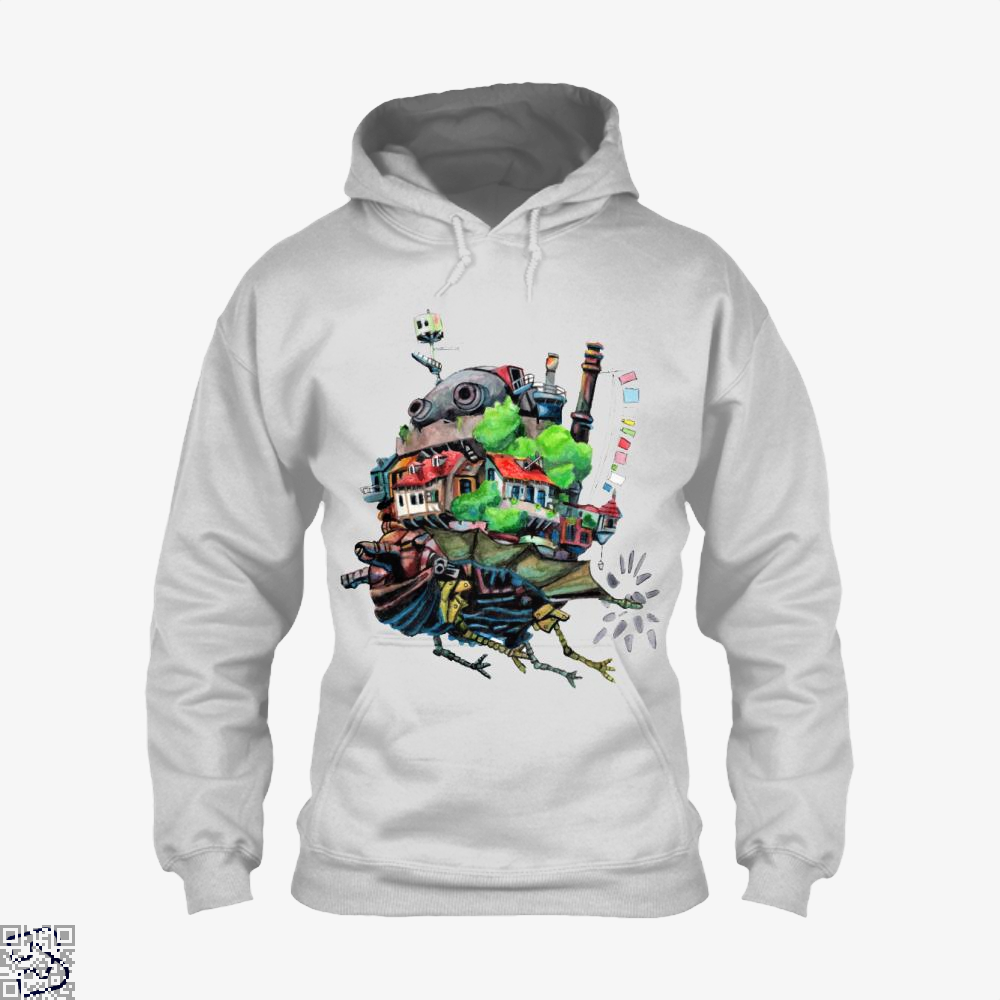 Howls Castle, Howl's Moving Castle Hoodie