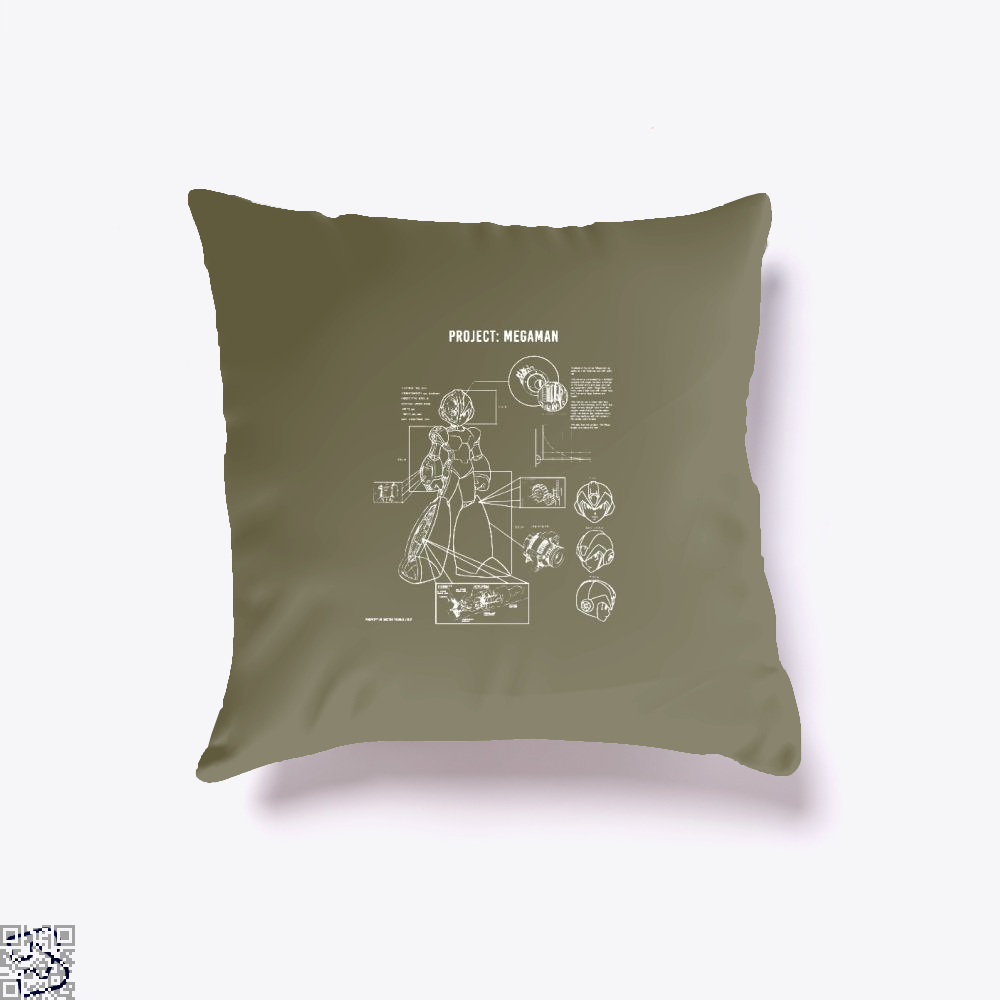 Project Megaman, Megaman Throw Pillow Cover