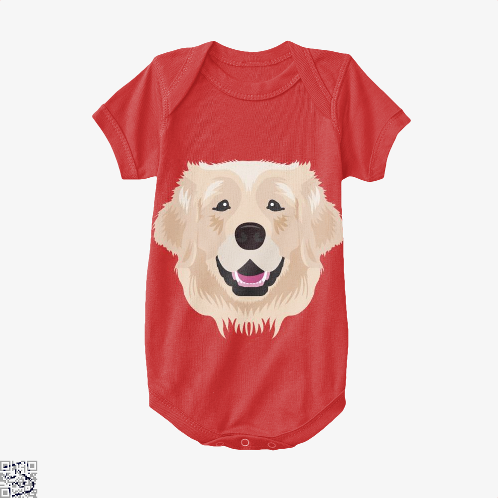 Golden Retriever, Golden Retriever Baby Onesie