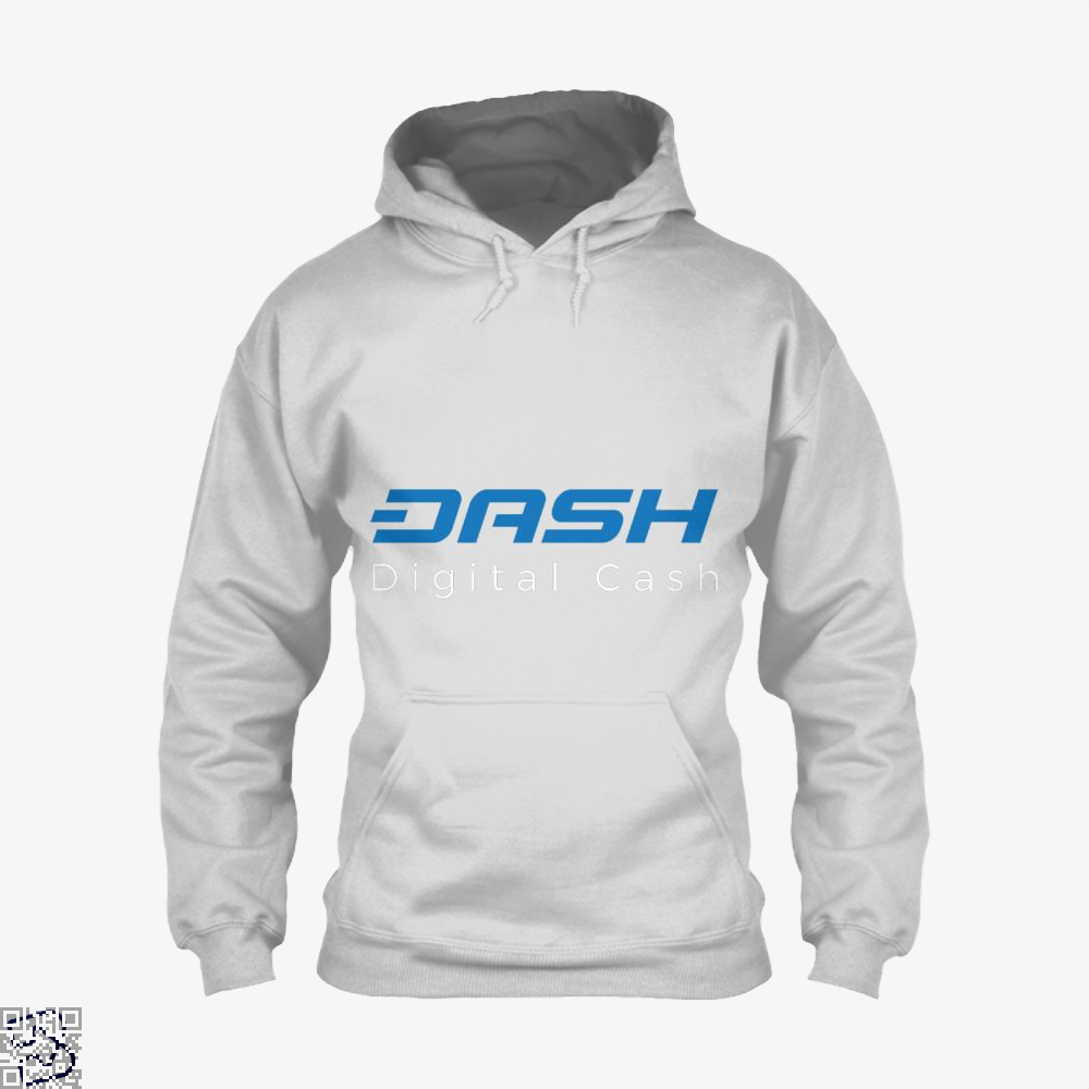 Dash Is Digital Cash, Bitcoin Hoodie