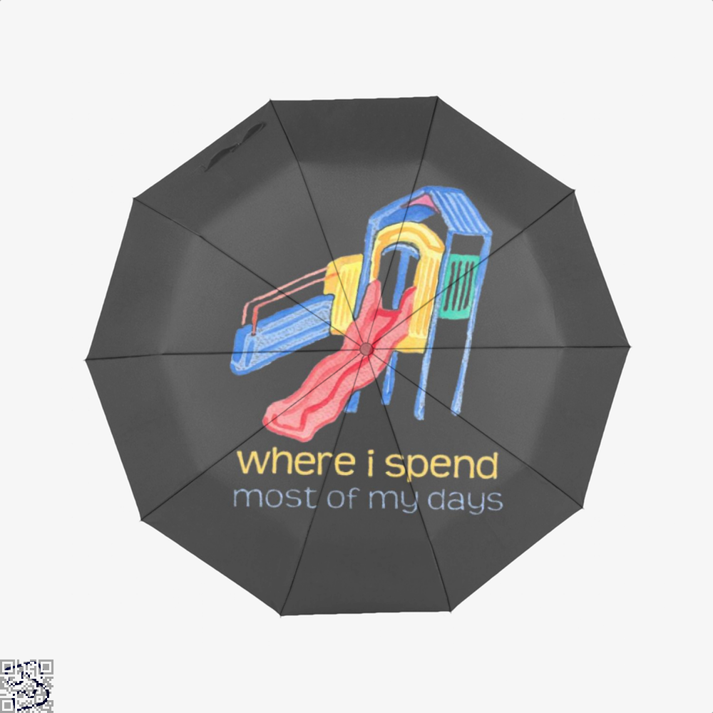Where I Spend Most Of My Days, Juvenile Umbrella
