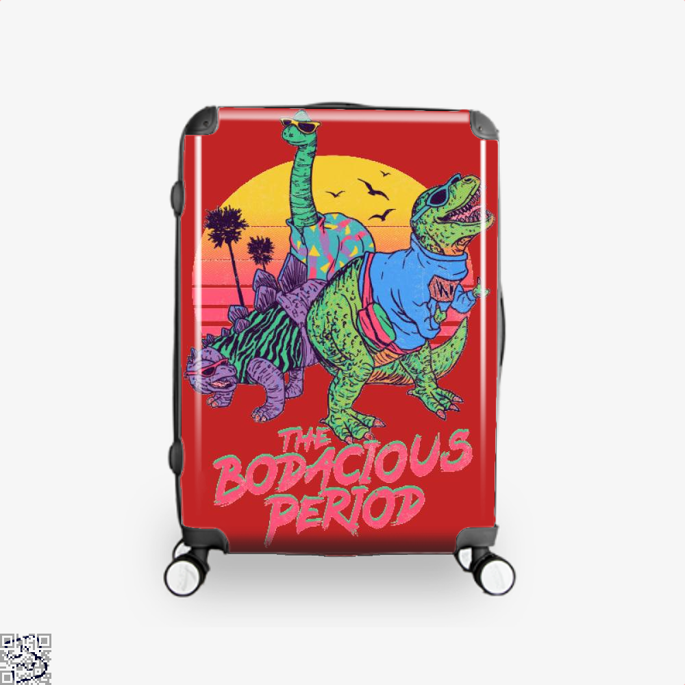 The Bodacious Period, Dinosaur Suitcase