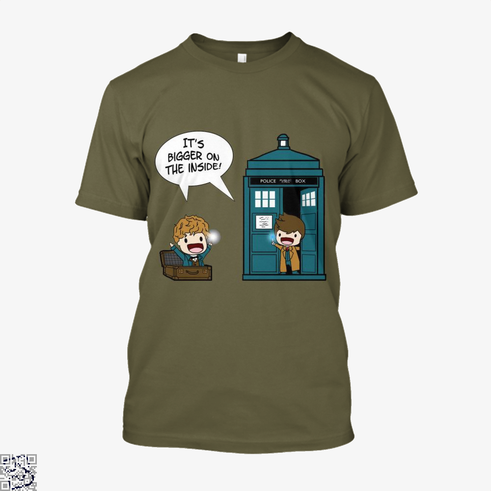 It's Bigger On The Inside, Doctor Who Shirt