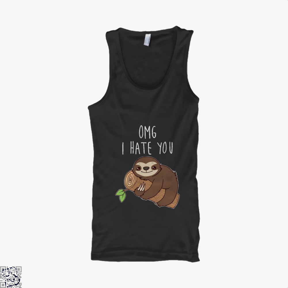Hate Sloth, Sloth Tank Top