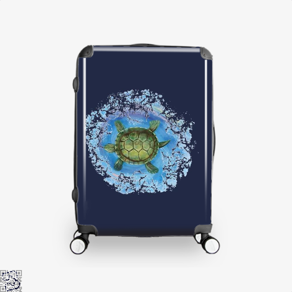 Twisted Turtle , Kamloopsartparty Suitcase