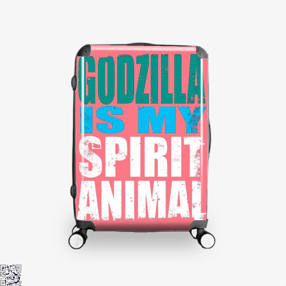 Godzilla Is My Spirit Animal, Godzilla Suitcase