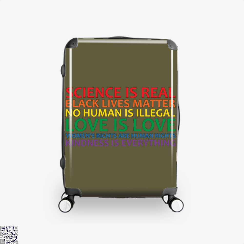 Human Rights World Truths, Feminism Suitcase