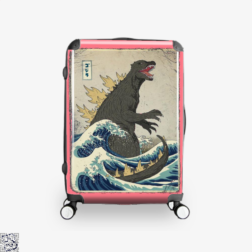 The Great Godzilla Off Kanagawa, Godzilla Suitcase