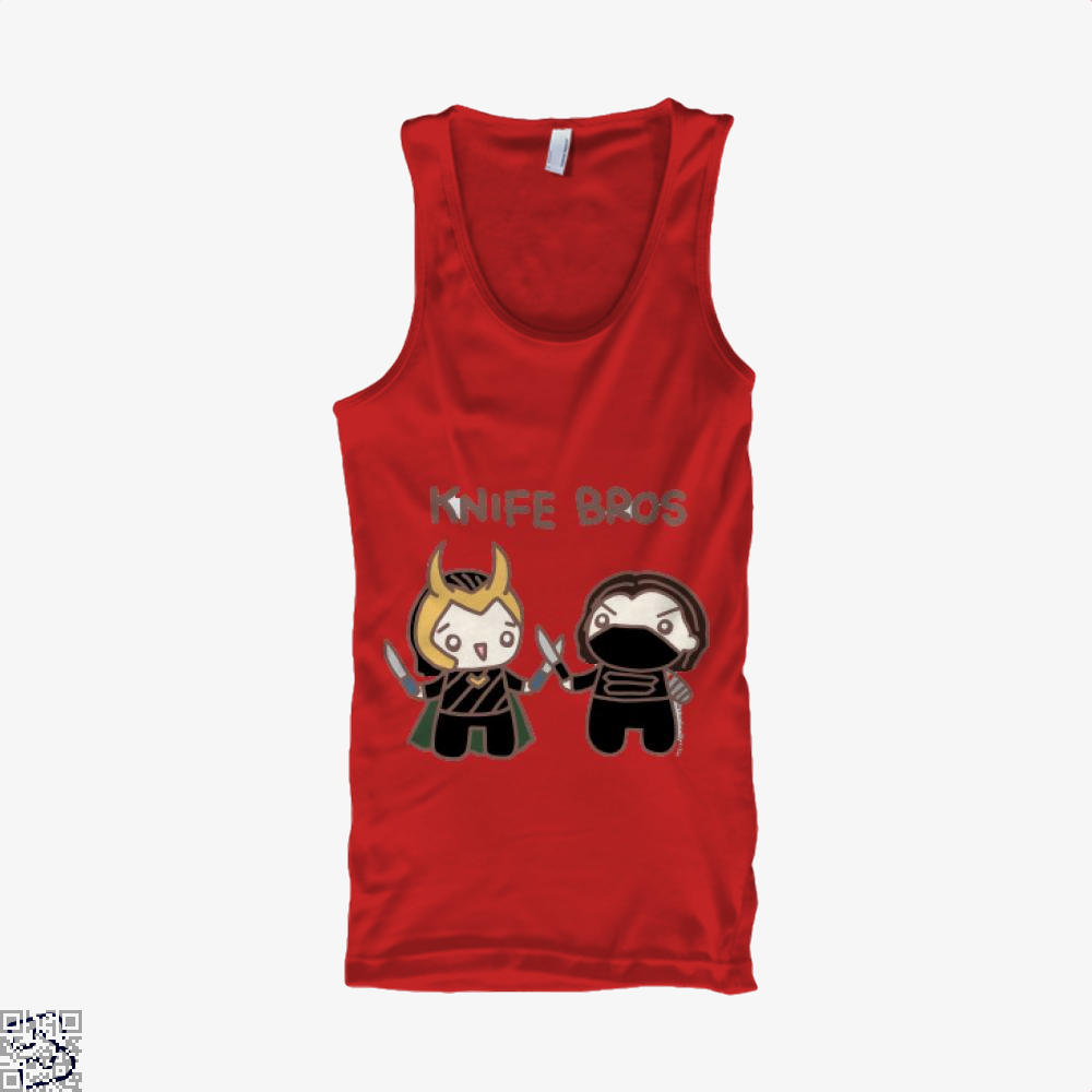 Knife Bros, Loki Tank Top