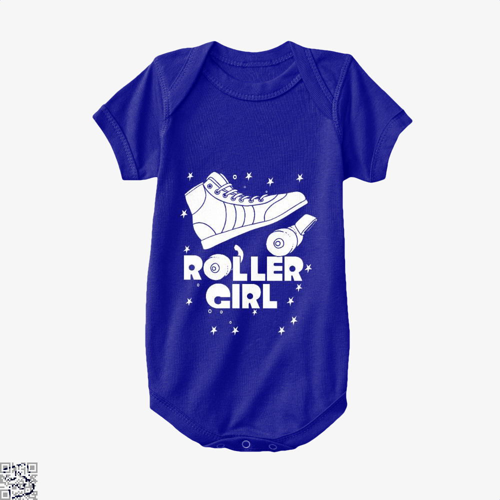 Roller Girl Roller Skating Derby Rgb, Skating Baby Onesie