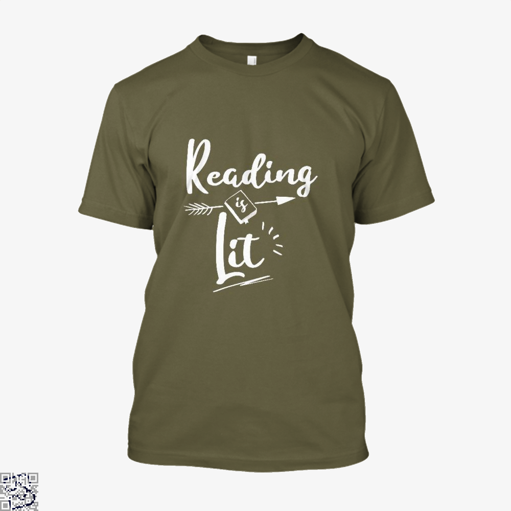 Reading Is Lit Funny, Reading Shirt