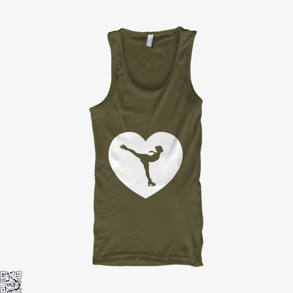 Skating Love | I Heart, Skating Tank Top