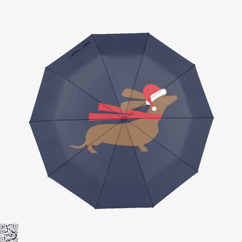 Christmas Dachshund, Dachshund Umbrella