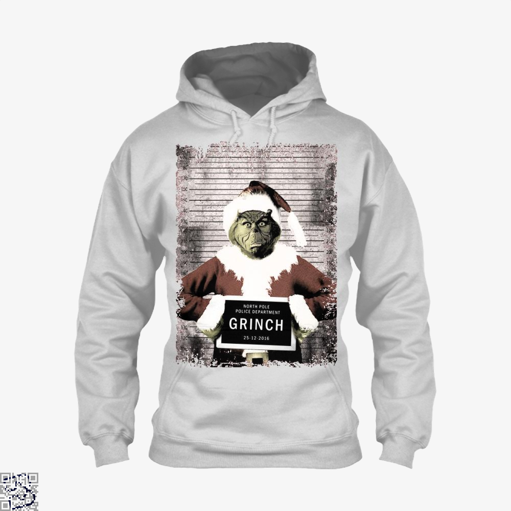 The Grinch Christmas Mugshot, Grinch Hoodie