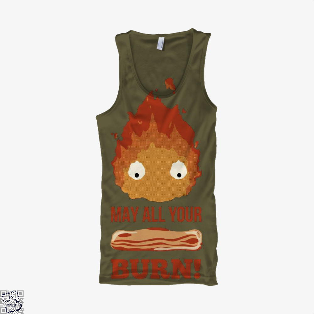 May All Your Bacon Burn, Bacon Tank Top