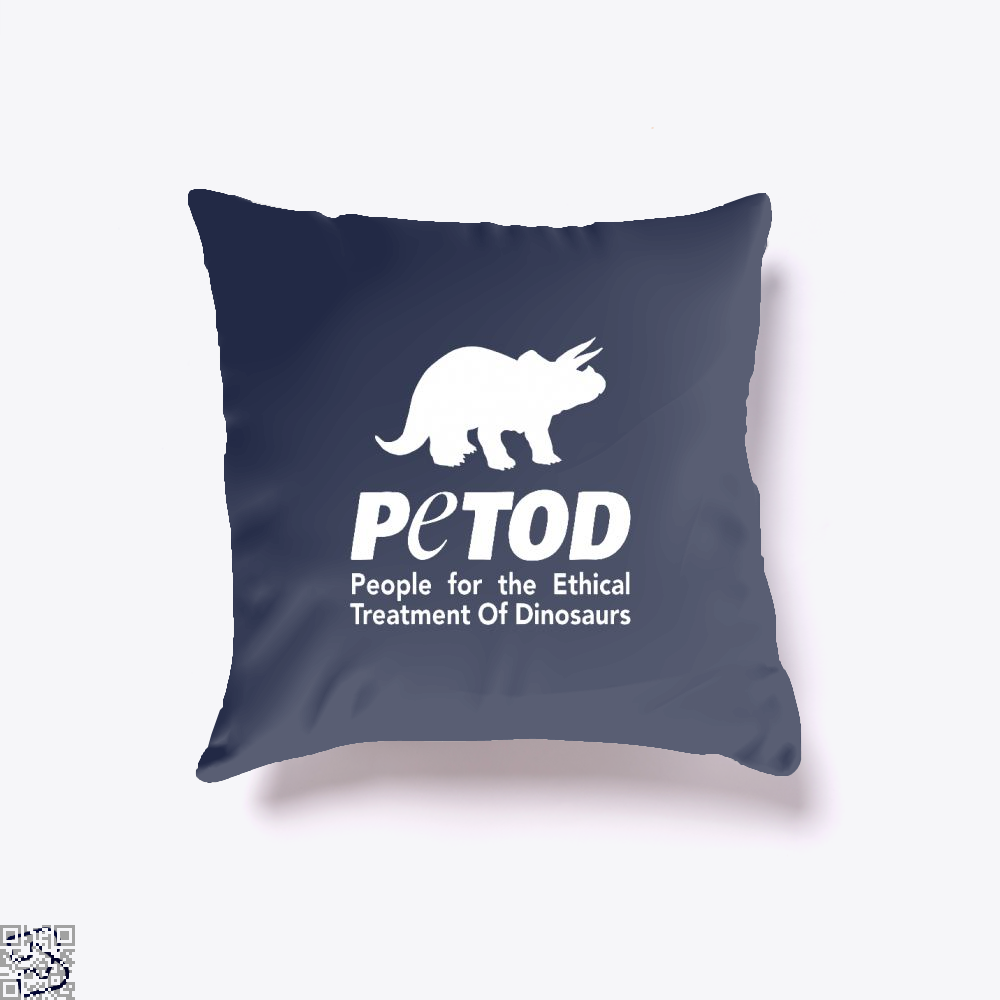 Petod Dinosaur Peta, Jurassic World Throw Pillow Cover