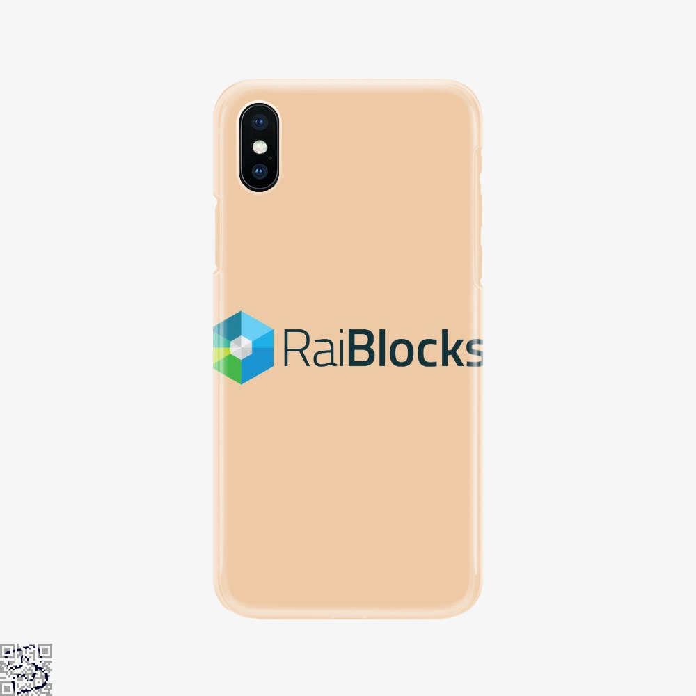 Raiblocks Crypto, Bitcoin Phone Case