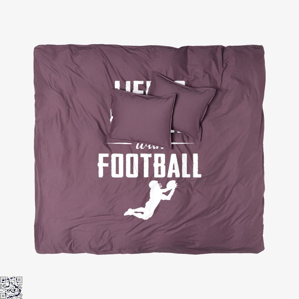 Life Is Better With Football, Football Duvet Cover Set