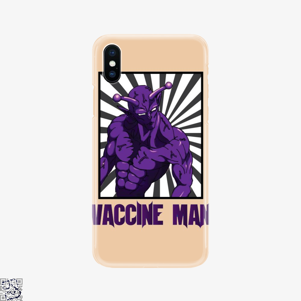 Vaccine Man, One-punch Man Phone Case