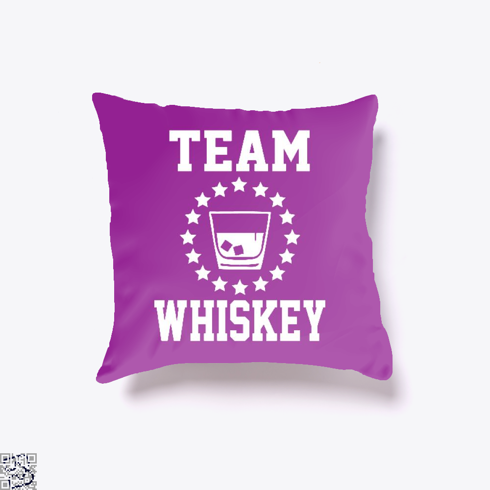 Team Vodka, Drink Throw Pillow Cover