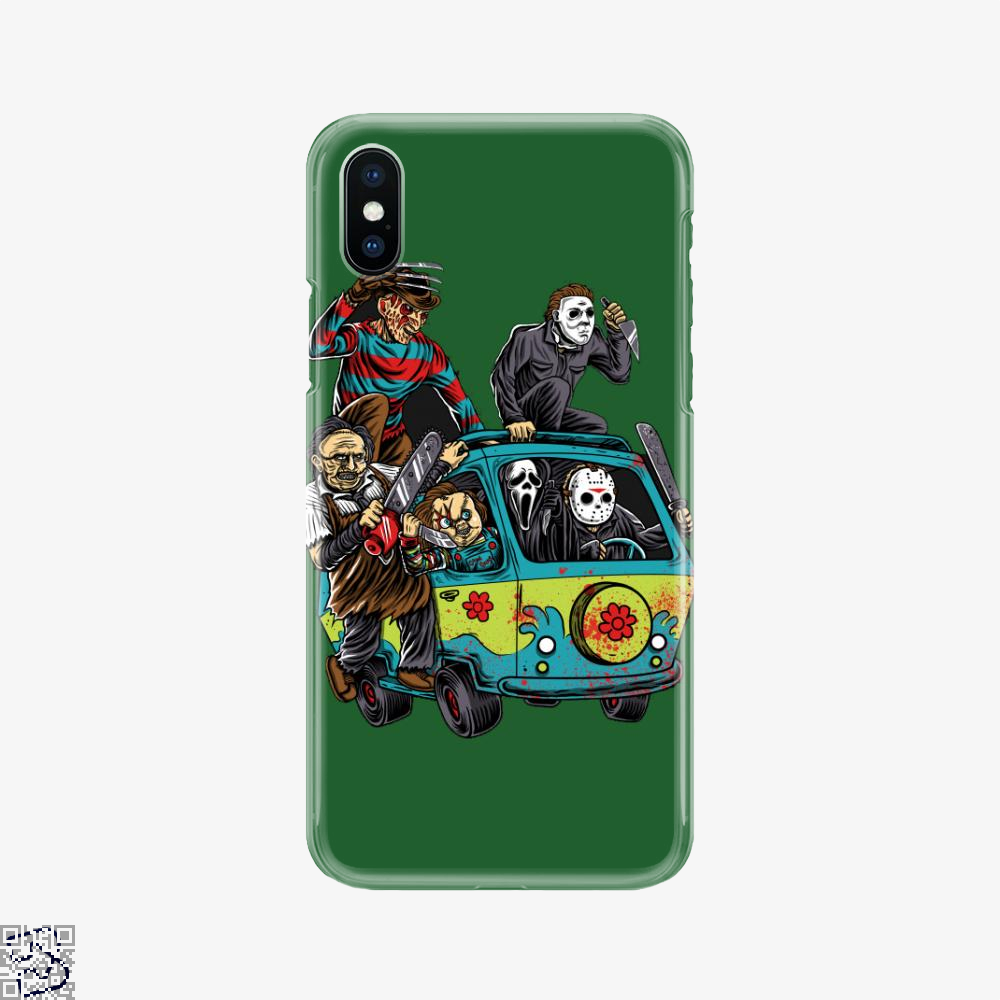 The Massacre Machine, Horror Film Phone Case