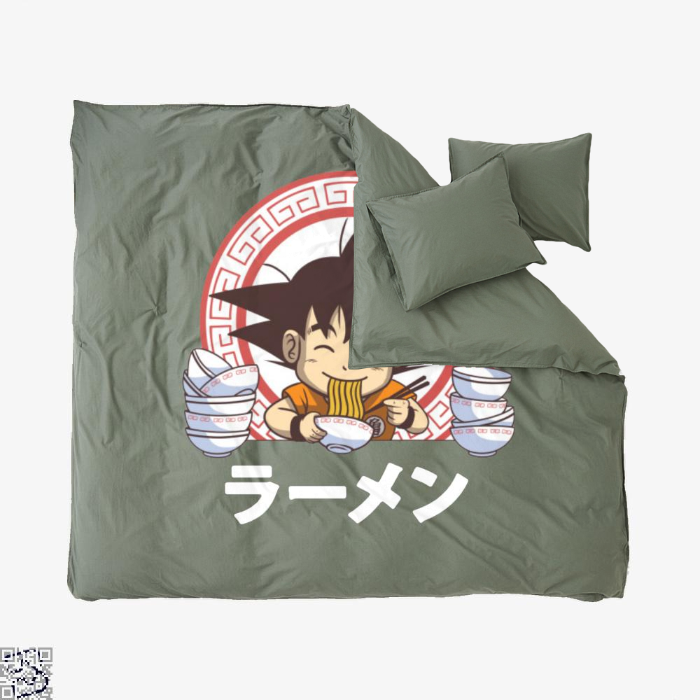 Saiyan Ramen, Dragon Ball Duvet Cover Set