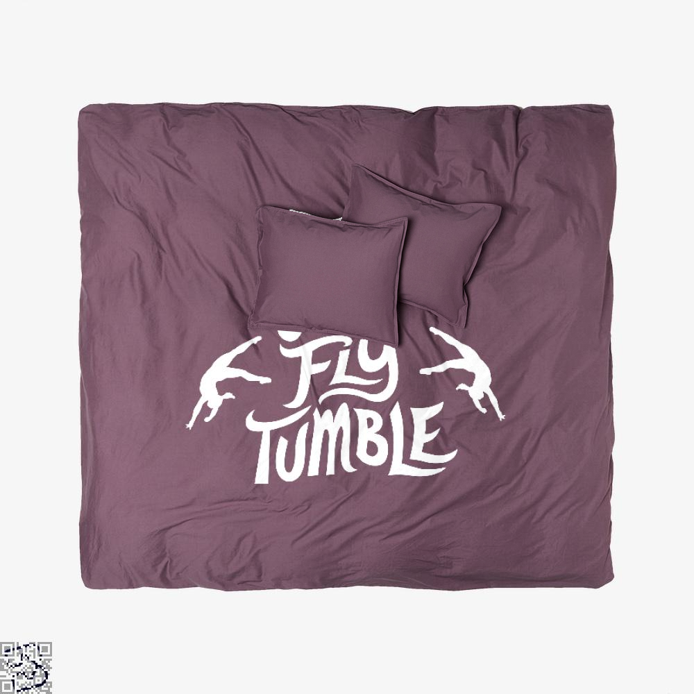 Flipflytumble, Gymnastics Duvet Cover Set
