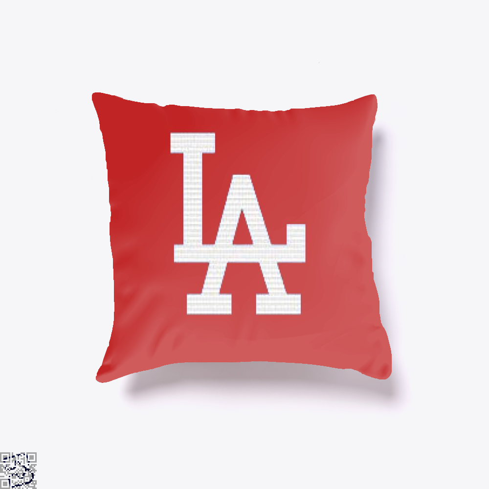 La, Los Angeles Throw Pillow Cover