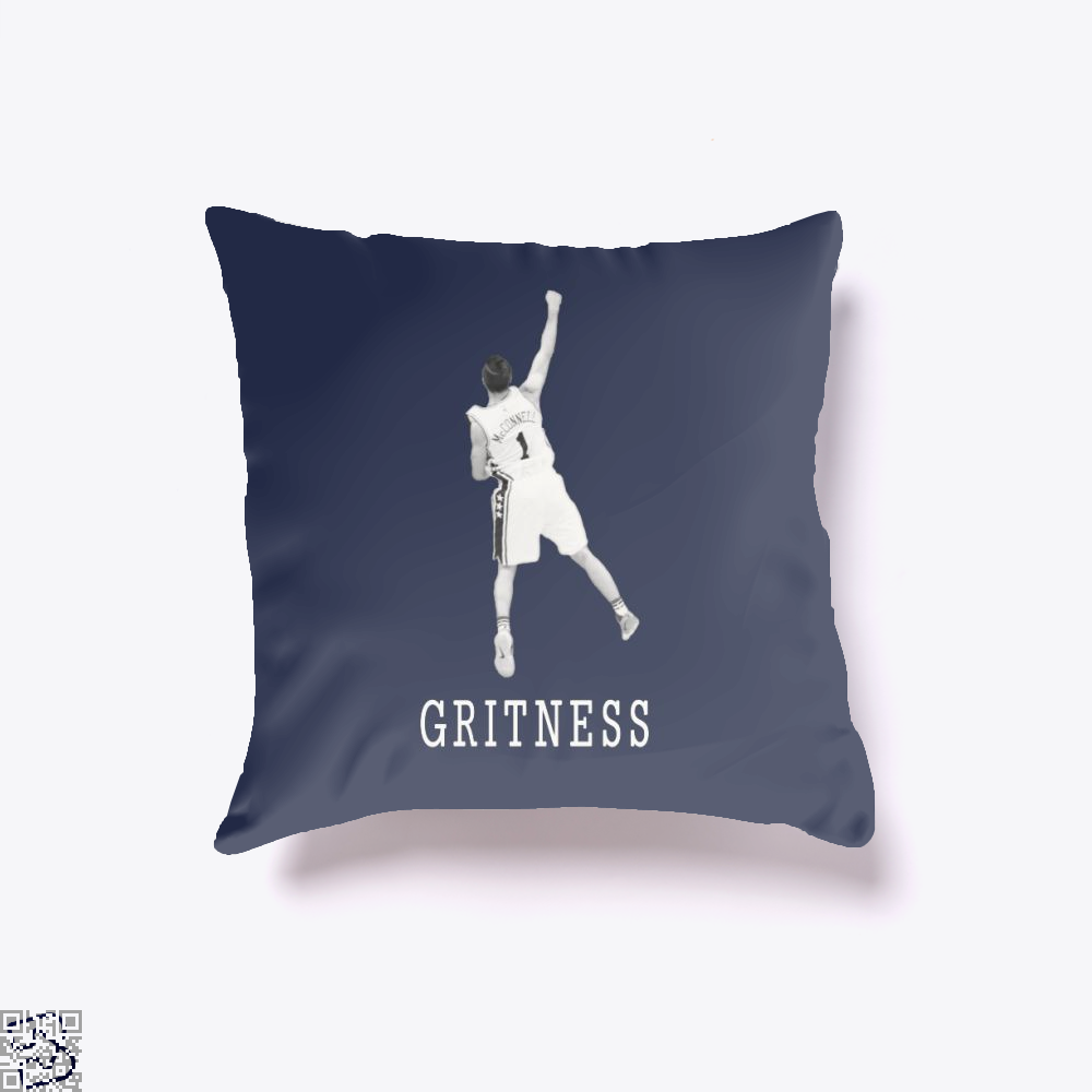 Tjmcconnell Gritness, National Basketball Association Throw Pillow Cover