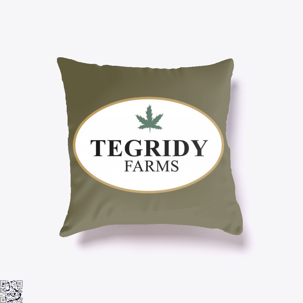 Tegridy Farms, Weed Throw Pillow Cover