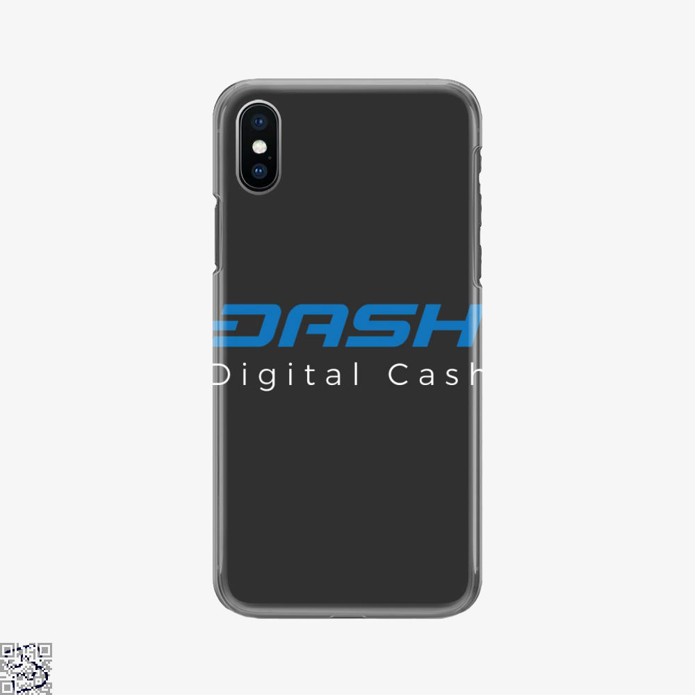 Dash Is Digital Cash, Bitcoin Phone Case
