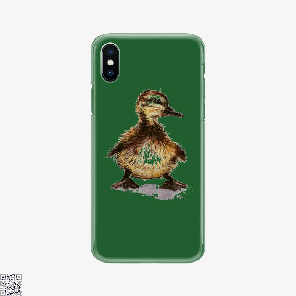 Little Duck, Schmidtfacedartistry Phone Case