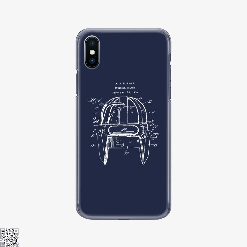 Original Football Helmet Design, Football Phone Case