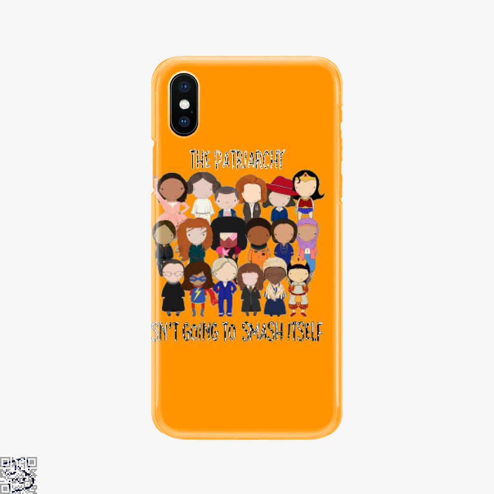 Patriarchy Smash, Feminism Phone Case