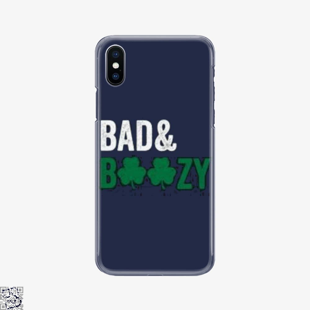 Bad Boozy, Deadpan Phone Case