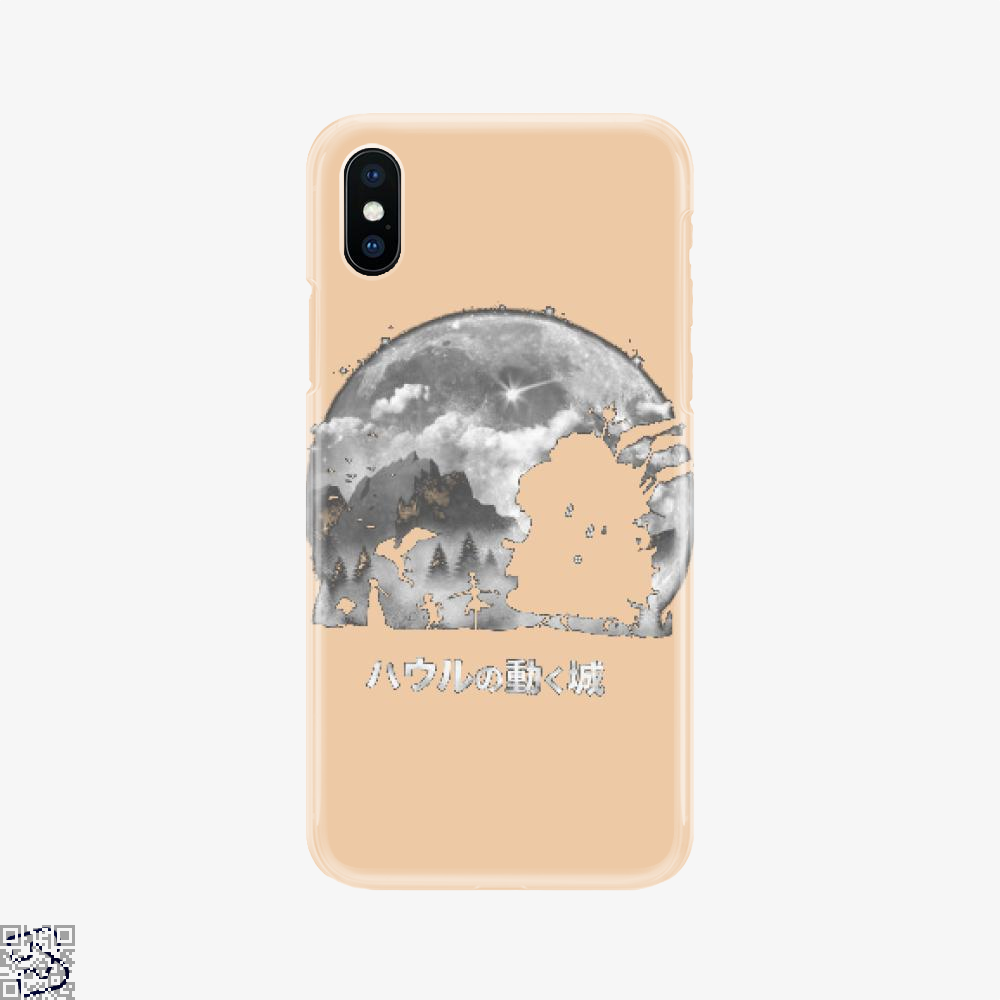 A Castles Journey, Howl's Moving Castle Phone Case
