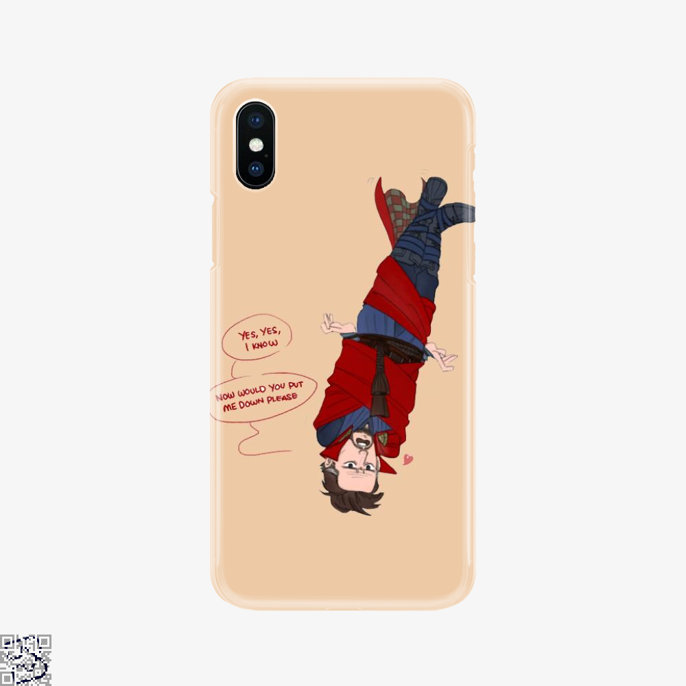 The Doc And Levi, Doctor Strange Phone Case