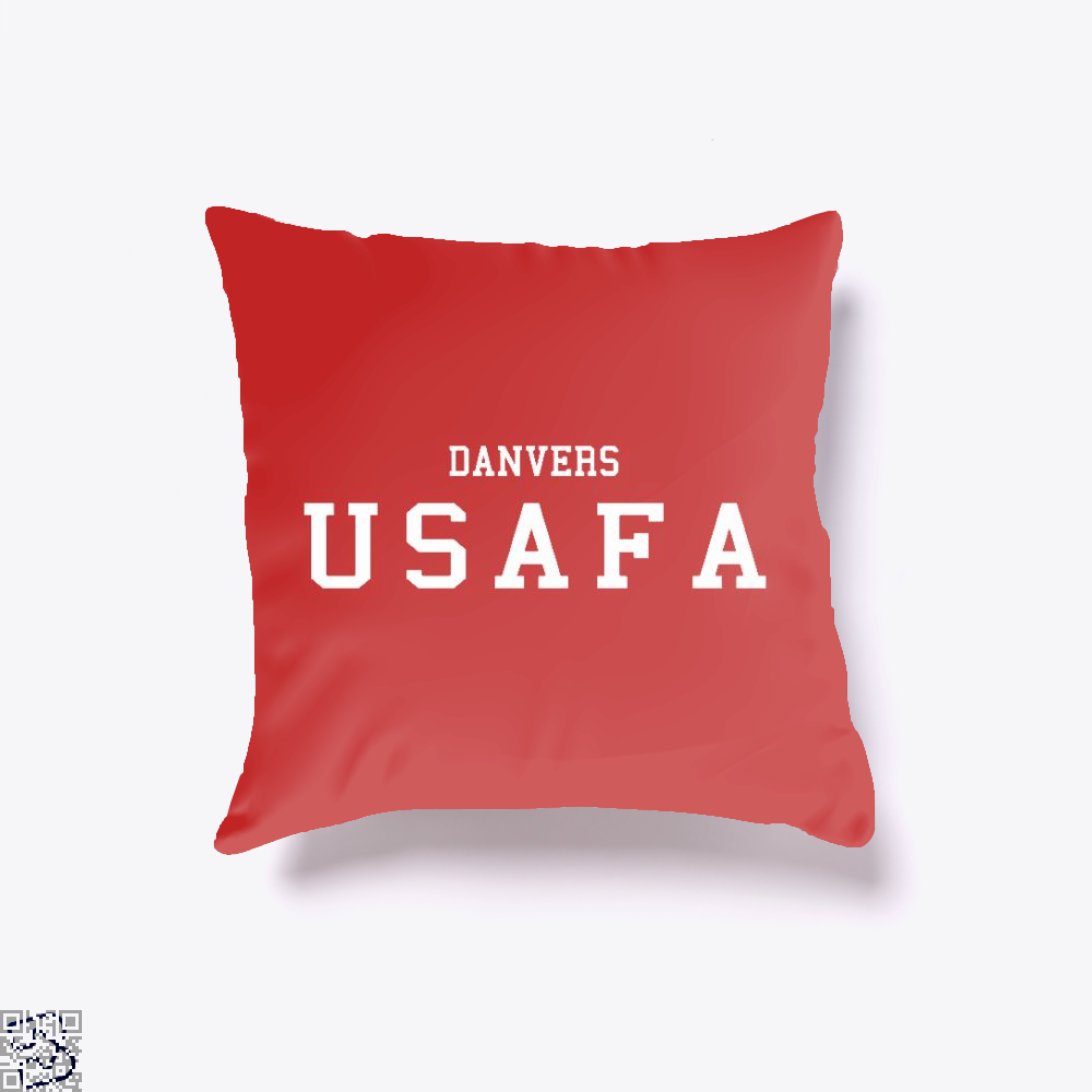 Captain Marvel Academy, Captain Marvel Throw Pillow Cover