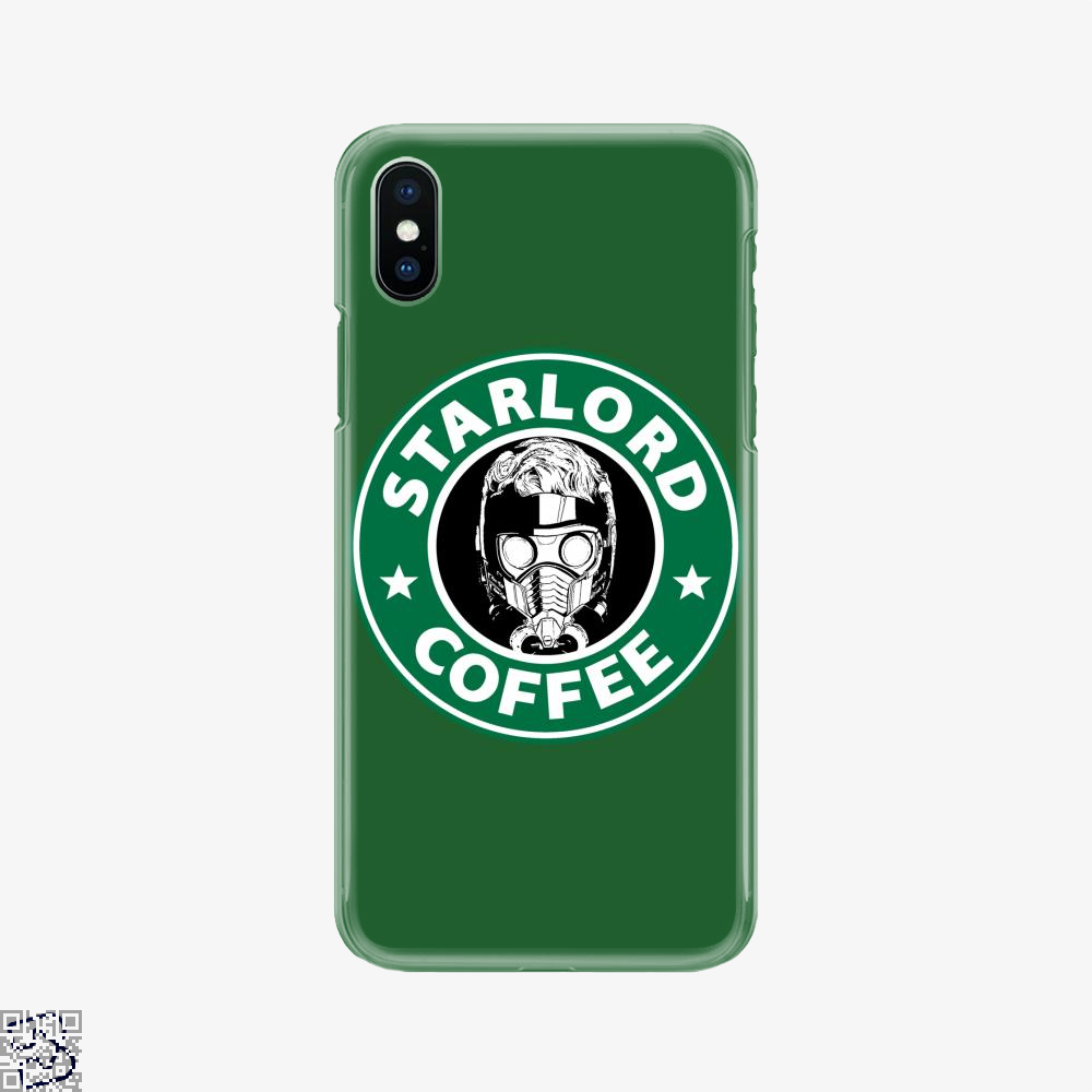 Starlord Coffee, Guardians Of The Galaxy Phone Case