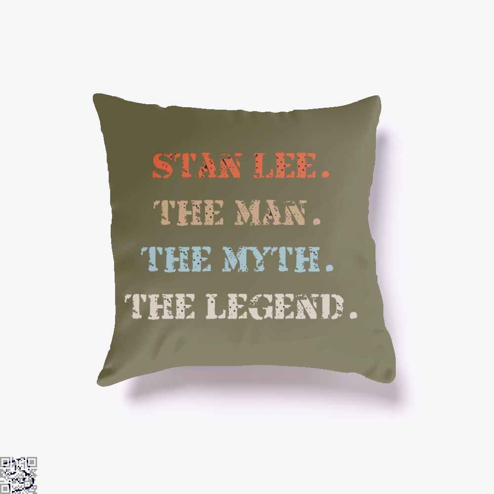 Stanlee, Stan Lee Throw Pillow Cover