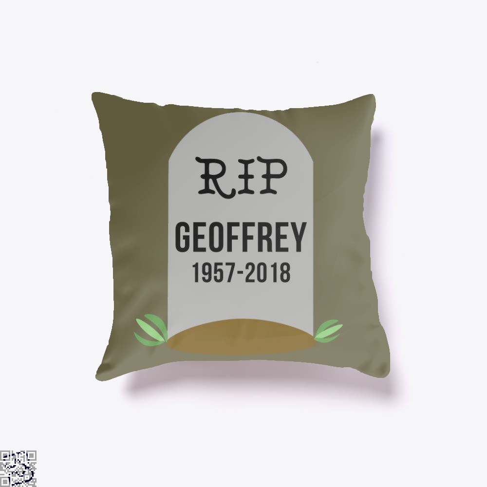 Rip Geoffrey, Giraffe Throw Pillow Cover