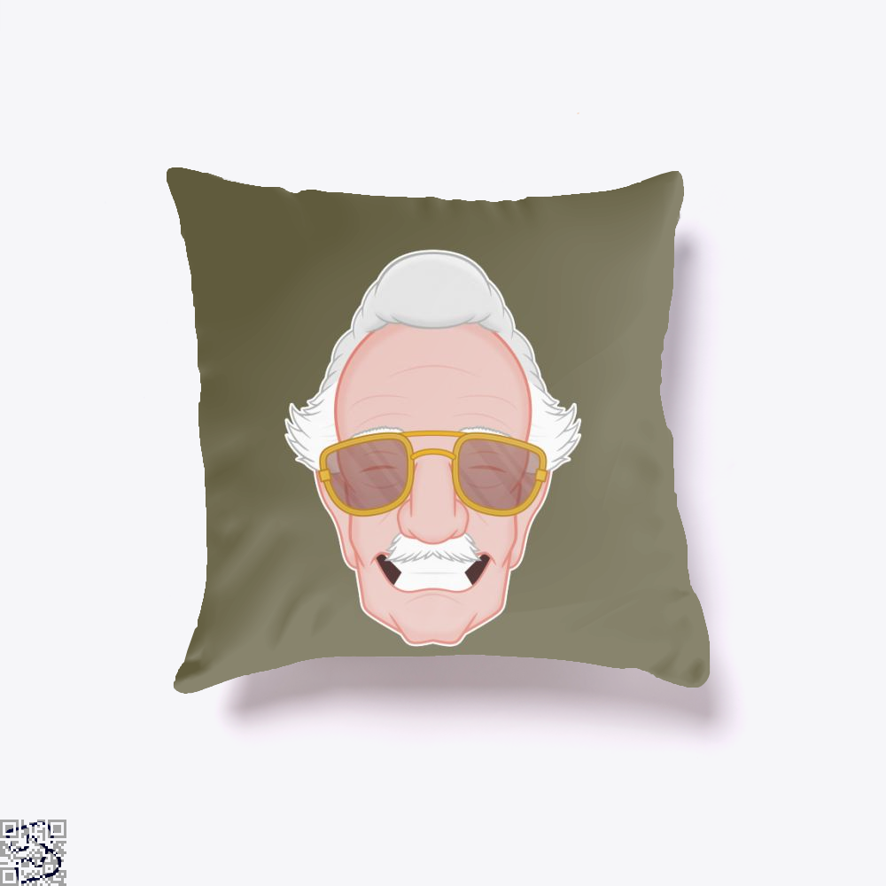 Stan The Man, Stan Lee Throw Pillow Cover