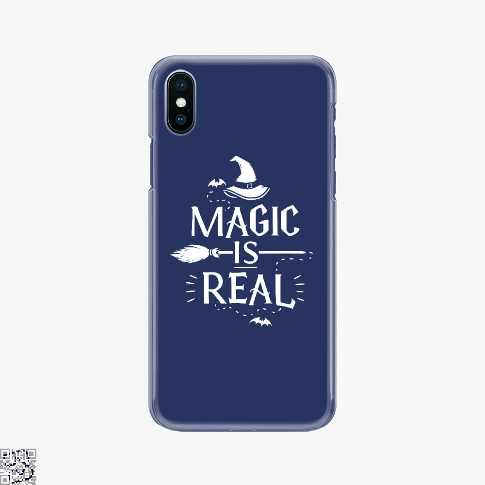 Magic Is Real Halloween Witch, Halloween Phone Case
