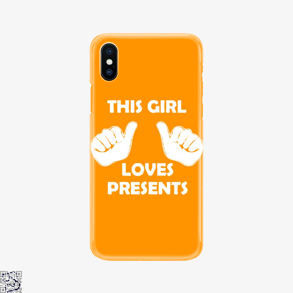 This Girl Loves Presents, Deadpan Phone Case