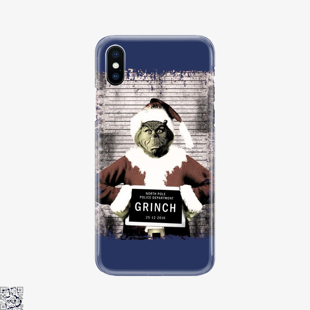 The Grinch Christmas Mugshot, Grinch Phone Case