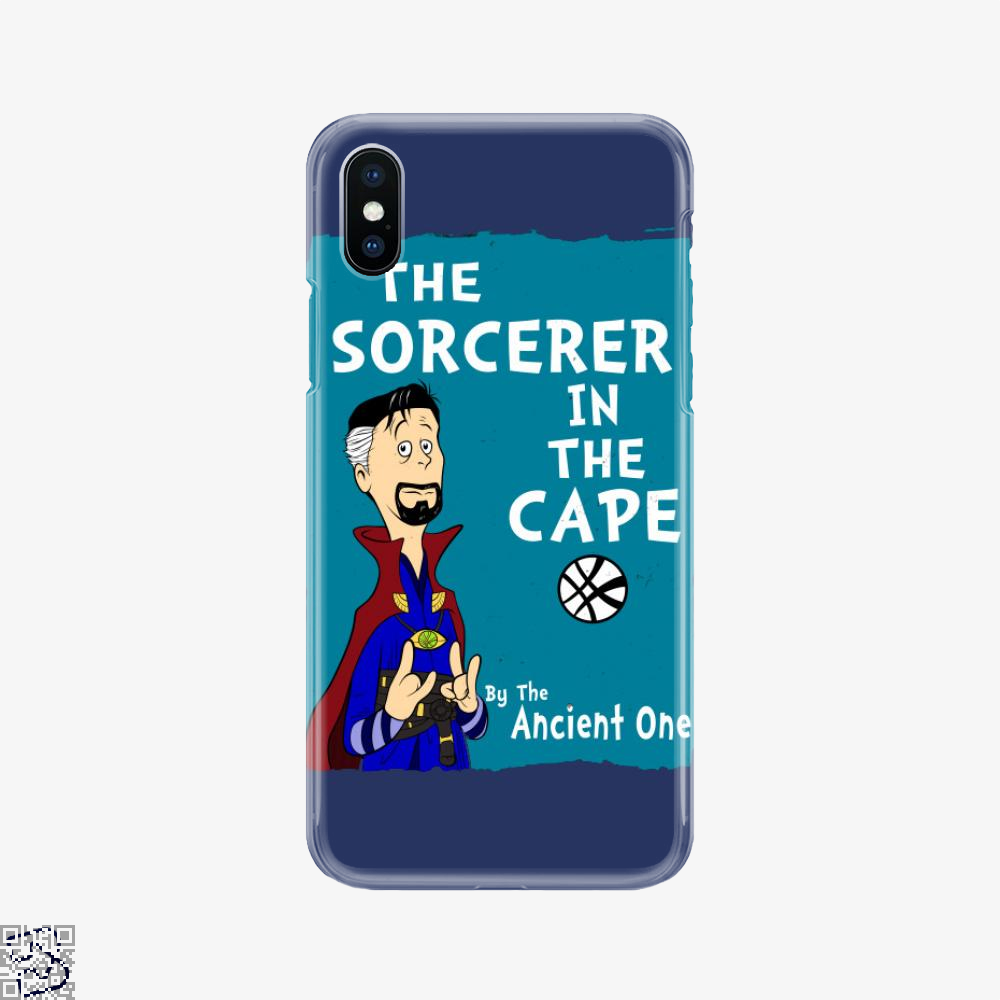 The Sorcerer In The Cape, Doctor Strange Phone Case